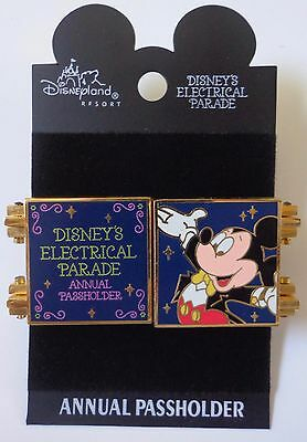 Disney Pin DLR Passholder Exclusive Electrical Parade Welcome Home Le