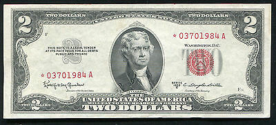1953-C $2 Two Dollars *star* Legal Tender United States Note Uncirculated