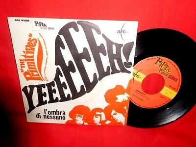 THE PRIMITIVES Yeeeeeeh! 45rpm 7' + PS 1967 ITALY BEAT MINT-