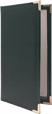 """25 Two Panel, Two View Menu Covers - 11"""" x 5.5"""" in Green (VGT-230GR-P)"""
