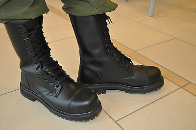 NEW CANADIAN MILITARY GARRISON BOOTS Size Men's 10 Steel Toe & Oil Resistant.
