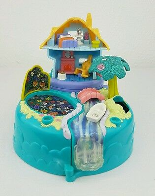 Vintage Polly Pocket rare  Disney Alice In Wonderland 1996