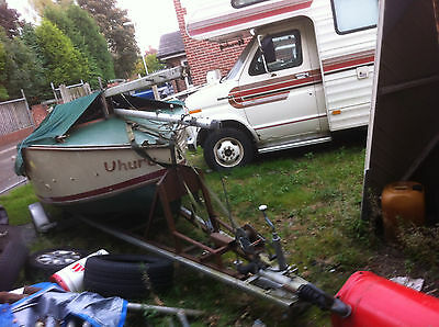 Uhuru 14 Foot Sailing Fishing Boat With Trailer Project Swap Swop
