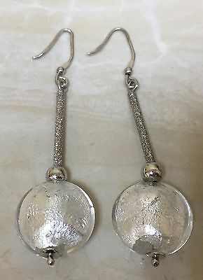 Sterling Silver Dangle Earrings