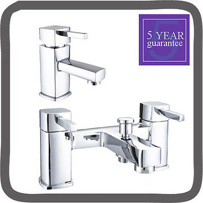 Bathroom Tap - Bath Shower Mixer- Mono Basin Mixer & Waste