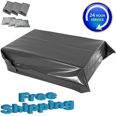Grey Mailing Strong Bags Poly Postal Postage Multilisting 10,25,50,100,200,500