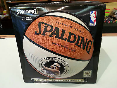 Vince Carter Nba 1999 Rookie Of The Year Ball Limeted Of #250 Baseketballs