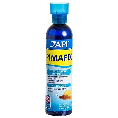 API Pimafix 237ml Anti Bacterial Fungal Treatment Aquarium Fish Infection
