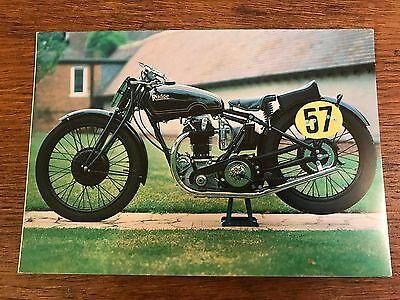 Vintage 1930 500cc Rudge TT Replica National Motorcycle Museum Postcard