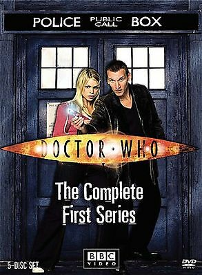 Doctor Who - The Complete First Series Season 1 (DVD, 2006, 5-Disc Set)
