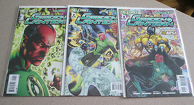Green Lantern #1-25 Dc New 52 Geoff Johns Nm Justice League