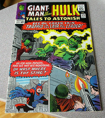 Tales To Astonish #69 Hulk & Giant-Man 7.0 Steve Ditko Last Giant Man Issue