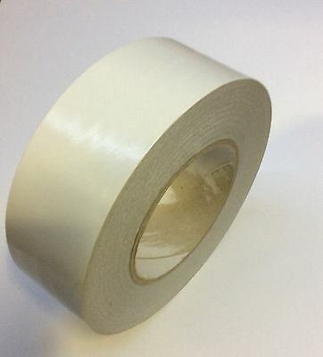 1 ROLL DOUBLE SIDED Clear Tape HIGH PERFORMANCE VERY STRONG 50mm x 50m