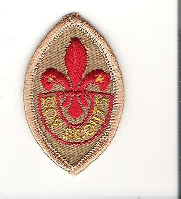 Scouts Canada - Merit proficiency grade badge  - embrodiered - tenderfoot