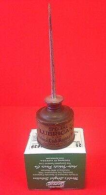 NCR National Cash Register Special Lubricant Motors Oil Can Paper Label 1800s