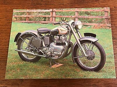 Vintage 1951 500cc Royal Enfield National Motorcycle Museum Postcard