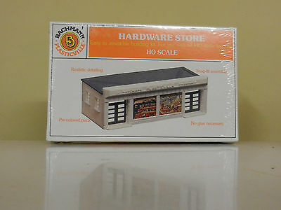 Bachmann #45143 Hardware Store Kit Ho Scale Brand New In Box