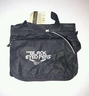 New BLACK EYED PEAS Concert The End TOUR Black ECO SMART Messenger Bag Satchel