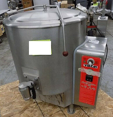 Vulcan GL40E 2006 Model Year Fully Jacketed Kettle Gas 40-gallon electric