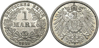 GERMANY: 1914 G 1 Mark #WC69842