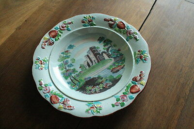 English Pearlware Child's Plate, c.1820