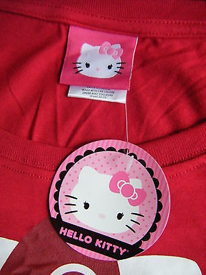 Hello Kitty Women's Junior Youth Size XL Long Sleeve Top Shirt - NEWwTAGS