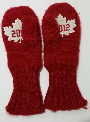 Hudson Bay Co. HBC Adult Canada Olympic RED 2012 Mittens