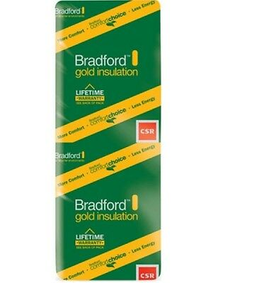 BRADFORD INSULATIONS - TIMBER  FRAME  BATTS - R2.0 - 115MM (1160 x 430)
