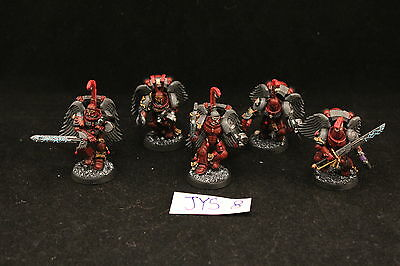 Warhammer Space Marines Sanguinary Guard Pro Painted
