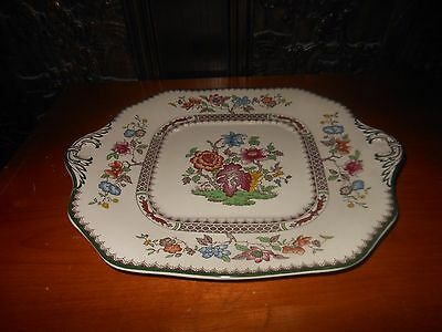 Vintage Spode 2/9253 Chinese Rose Square Cheese Serving Dish