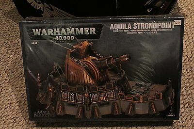 Warhammer 40k Scenery Aquila Strongpoint New in Box