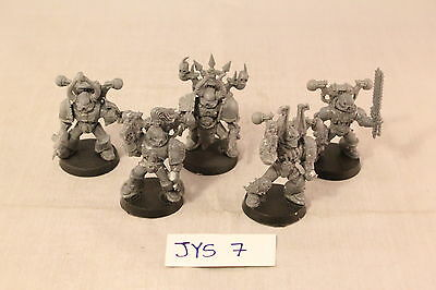 Warhammer Chaos Space Marine Tactical Marines