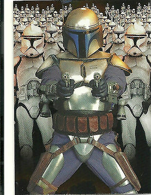 2002 STAR WARS: ATTACK of the CLONES cards - Silver Foil Insert Card #10.
