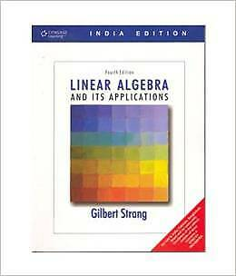 FAST SHIP: Linear Algebra And Its Applications 4E by Gilbert St