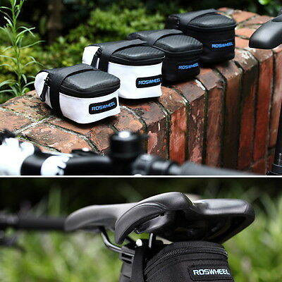 Outdoor Cycling Seat Pouch Bicycle Tail Rear Storage Bag Bike Saddle Bag~WS