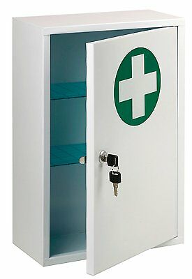 St John Ambulance Lockable First Aid Cabinet**Brand New Boxed**RRP £43.20