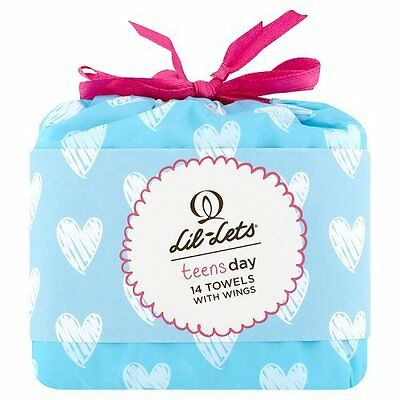 Lil-Lets Day Teen  14 Towels With Wings