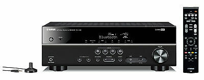 Yamaha RXV381 5.1-channel AV receiver with built-in Bluetooth Black