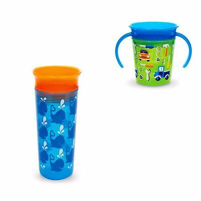 Munchkin Miracle 360 Deco Sippy Cup/Trainer Cup - New Designs!