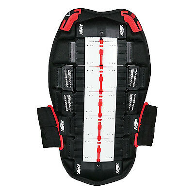Knox Aegis Back Protector Blk/Red (5 Plate) RRP £99.99 - Now £49.99 (50% OFF!)
