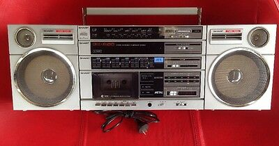 Sharp GX-250H Portable Stereo Radio Cassette Component System
