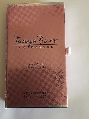 Tanya Burr Cosmetics Powder Cheek Palette Rosy Flush