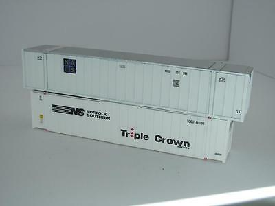 HO Containers 1 x 53' NACS & 1 x 48' Norfolk Southern Triple Crown