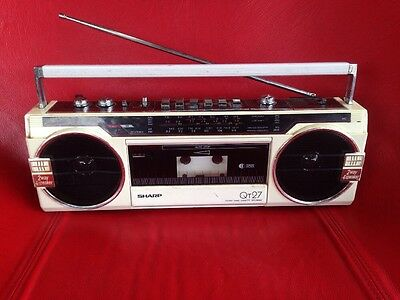 Sharp QT27 Stereo Radio Cassette Recorder - For Spare Parts