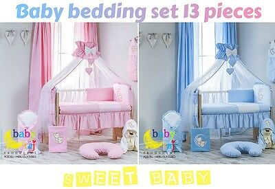 Baby Bedding Set 13 Pieces For Cot 120X60Cm! Special Offer!