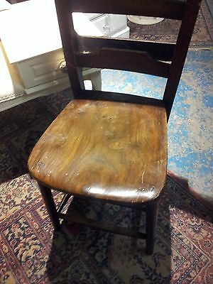 Vintage antique?school church bible book chairs