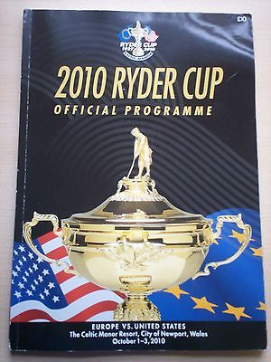 Ryder Cup 2010 Official Programme
