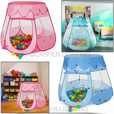 Kids Children Baby Fairy Tent Ball Pit Fun Indoor Playhouse Pop Up Play House UK