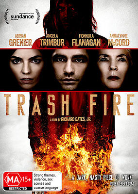 Trash Fire  - DVD - NEW Region 4