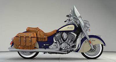 2017 Indain Chief Vintage Custom touring Cruiser with Leather Luggage Brand New